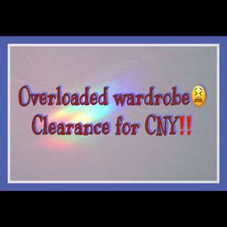 CLEARANCE SALES!!