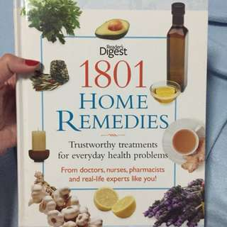 Home Remedies(Readers Digest)