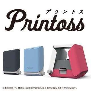 🇯🇵1月日本連線-🇯🇵最新人氣商品Takara Tomy  Printoss 手機相片列印機 (保證日本原裝)⚠️0120收單。