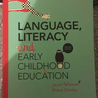 Early Childhood Textbooks for Bachelor of Early Education