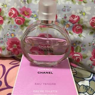 Authentic Pre-loved Chanel Chance Perfume