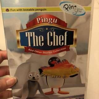 Pingu Chef kid DVD