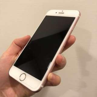 9成新 iPhone 6s 64g玫瑰金