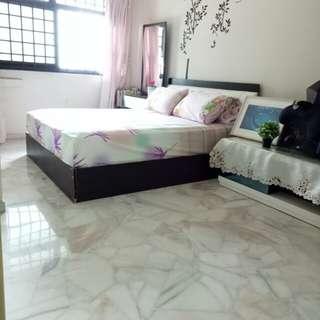 5 room HDB Woodlands 4-bedrooms near MRT 121 sqm