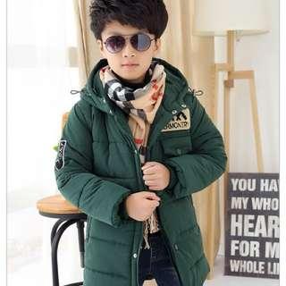 Boys Winter down padded coat jack XXL
