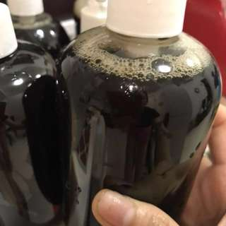 Home cooked hair grow shampoo 0% chemical purely herbs