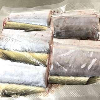新鮮現釣深海油帶魚 一包5片 320g (+-10g)5包/組