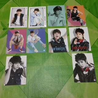 INFINITE CARD COLLECTION VOL. 1