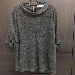 Kiyo Knit Grey Top