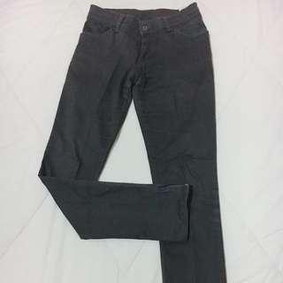 ZARA Army green pants with bottom side zipper