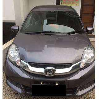 Honda mobilio S manual 2016 Over Kredit