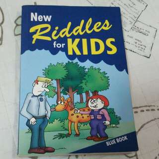 Riddles for Kids Book