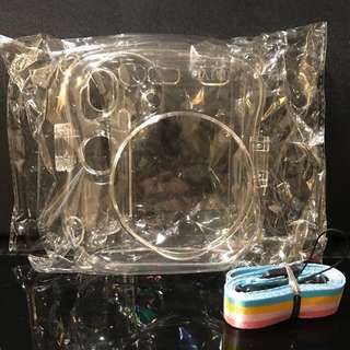 (BN) Caiul Transparent Case & Strap for Instax mini 25