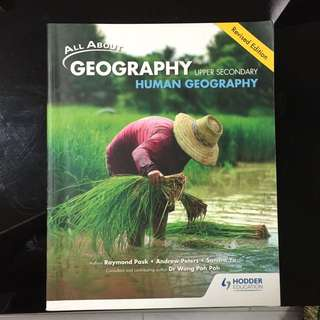 Human Geography TB for upper secondary