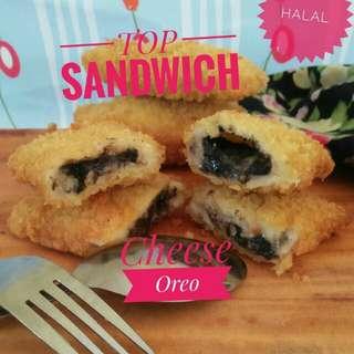Top sandwich frozen food