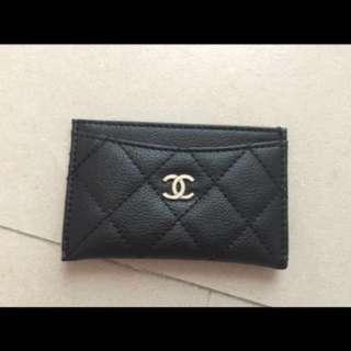 Chanel贈送卡套