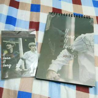 EXO PuppyStore Calendar & Photocard