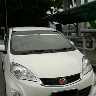 Perodua Alza 1.5 (A) EZi whiite colour full body kit