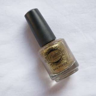 Pinkies Collection Mettalic Gold Nail Polish