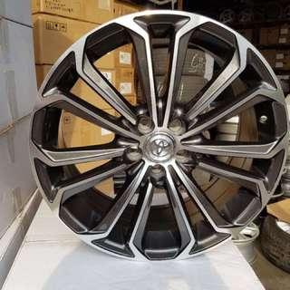 """17"""" Toyota Altis rims"""