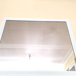 Large white mirror (negotiable)