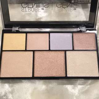 NYX STROBE OF GENIUS ILLUMINATING PALETTE HIGHLIGHTERS