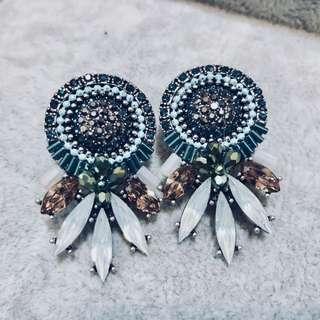 韓國復古耳環