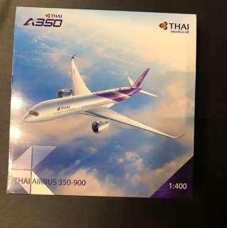 Aircraft model THAI airbus 350-900