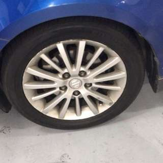 Suzuki swift sport rim