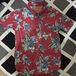 Aloha Floral Button Down