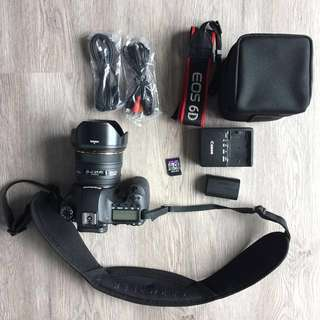 Canon 6d with lots of free accessories