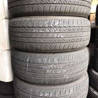 225/55/18 bridgestone tyre 70% tread 4pc available $50pc