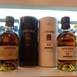 Aberlour 18 year old highland single malt scotch whisky 蘇格蘭威士忌