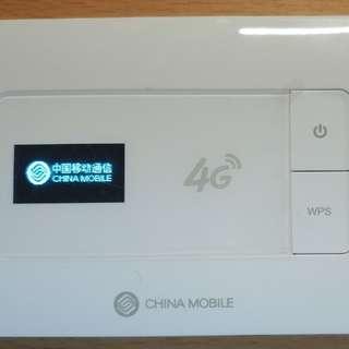 中國移動 CM510 5模10頻 Pocket WIFI蛋 全球通用無鎖(在中國大陸只可用中国移动),香港 3HK CSL 數碼通 4G/3G