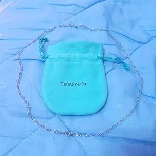Tiffany&Co. 純銀中長項鍊 真品