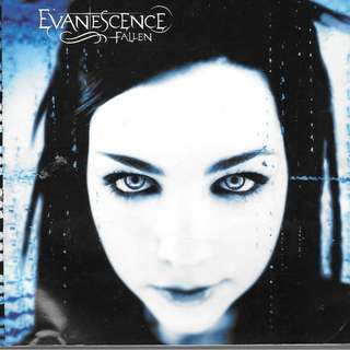 MY CD - EVANESCENCE - FALLEN //FREE DELIVERY BY SINGPOST.