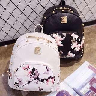 [ #MidJan55 ] Floral Backpack
