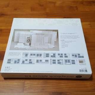 S.E.I Scrapbook Album Kit (Wedding theme)