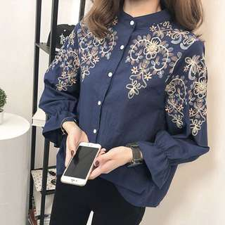 Embroided Blouse