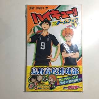 Haikyuu Team Book Vol 1