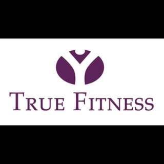 True Fitness membership (now to 31 Aug 18)