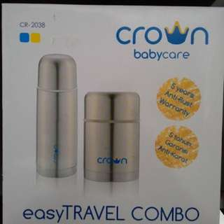 Crown baby Travel Combo
