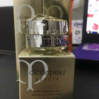 Cle de peau eye cream