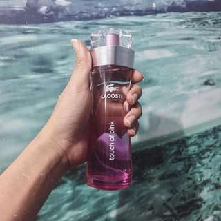 AUTHENTIC Lacoste Touch of Pink 90ML