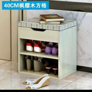 40cm Shoe Rack with Storage