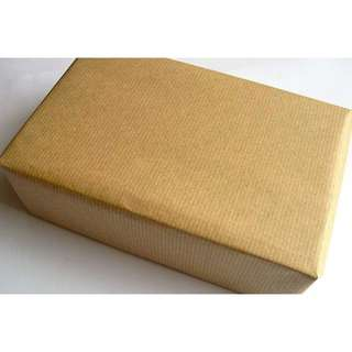 9 Pcs brown paper package