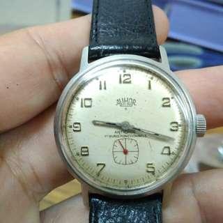 Vintage Alihor Gent subdial watch