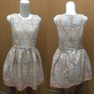 Peach Tunik Dress