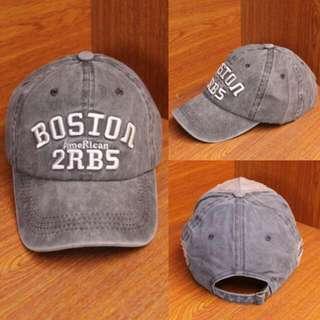Topi Baseball Denim BOSTON