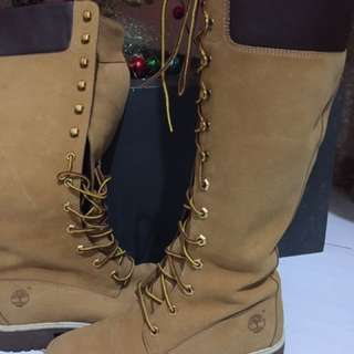 Authentic timberland high shoes!from Japan